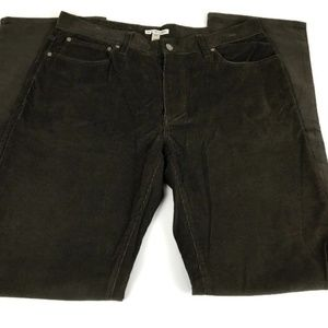 Peter Millar Brown Corduroy Dress Pants Size 34